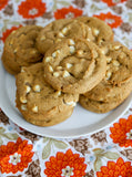 Custom Cookies - White Chocolate Pumpkin | Drop Cookies - Southern Sugar Bakery