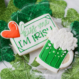 Custom Cookies - Saint Patrick's Day | Luck of the Irish! - Southern Sugar Bakery