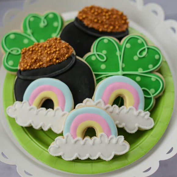 Custom Cookies - Saint Patrick's Day | Lucky One! - Southern Sugar Bakery
