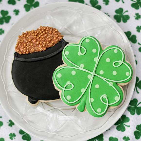 Custom Cookies - Saint Patrick's Day | You Are Golden! - Southern Sugar Bakery