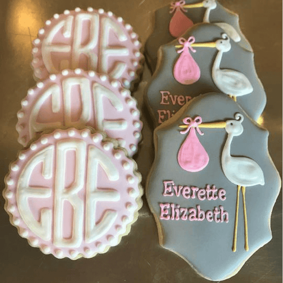 Custom Cookies - Newborn Set | Sent From Above! - Southern Sugar Bakery