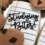 Custom Cookies - Studying Bites! - Southern Sugar Bakery