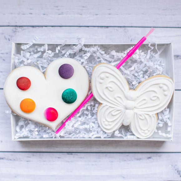 Valentine |  Paint Your Own Cookies