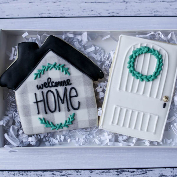 Custom Cookies - Welcome Home! - Southern Sugar Bakery