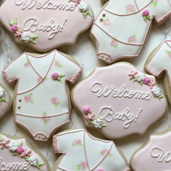 Welcome Baby Girl! - Southern Sugar Bakery