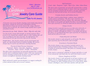 Caribbean Gem Ultra Jewelry Cleaner Kit