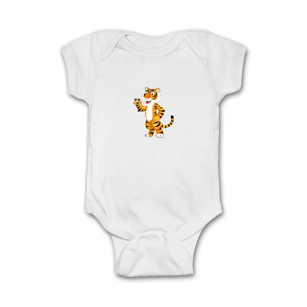 Infant Onesie with a Tiger