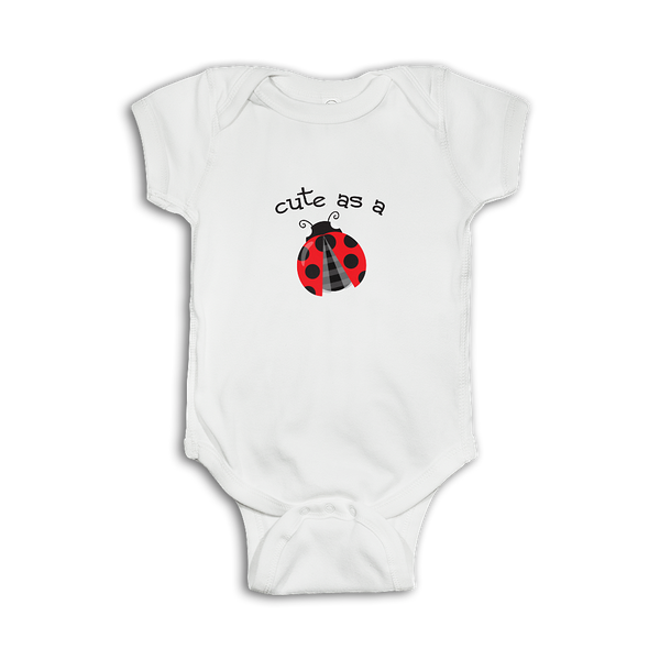 Cute Baby Onesie 'Cute as a bug'