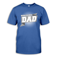 Men Short Sleeve T-Shirt 'World's Best dad'
