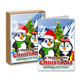 Merry Christmas and Happy New Year Boxed Greeting Cards