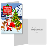 15 Greeting Cards and 15 Envelopes 'Merry Christmas and a Happy New Year'