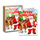 Merry Christmas Boxed Greeting Cards