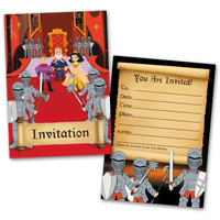 Knights Party Invites