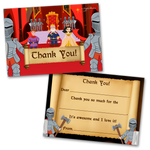 Knights Thank You Cards