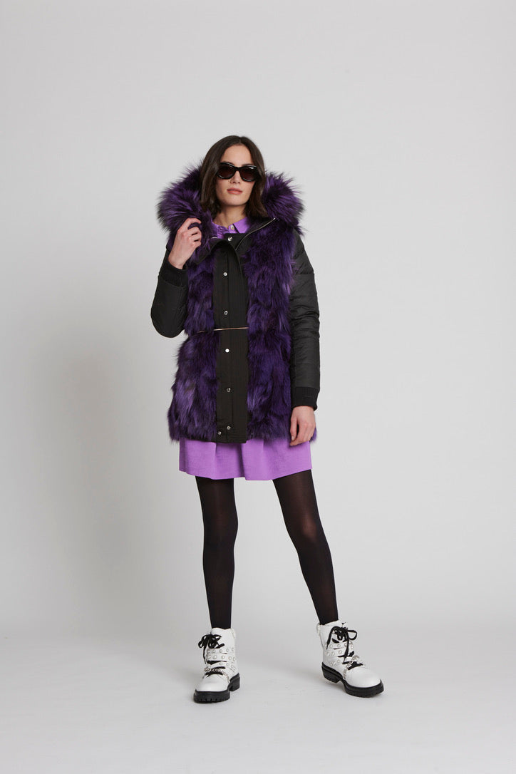 Messa Parka - Purple