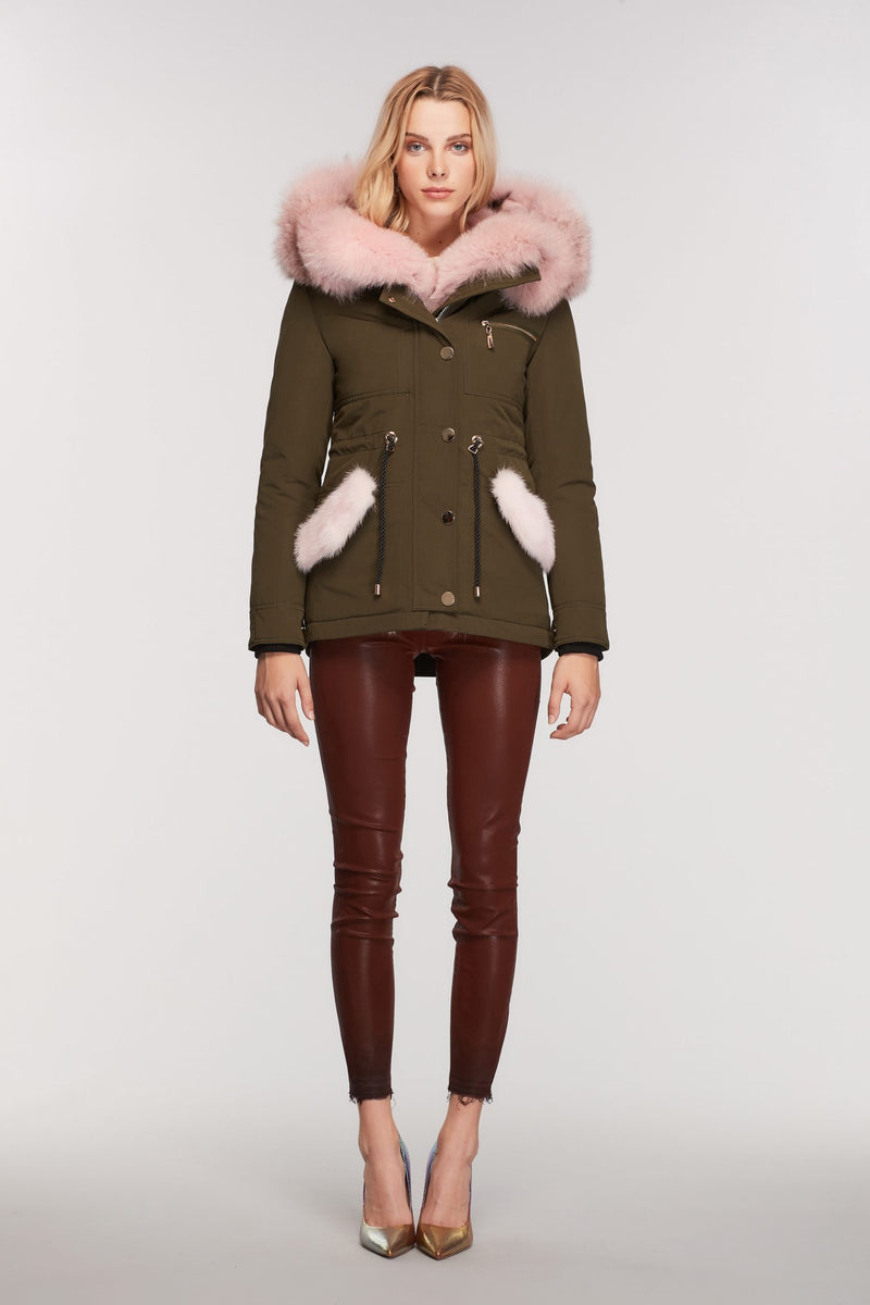 Vivian's Dream Parka - Pink