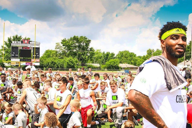 CHARG1NG 1Way Youth Football Camp