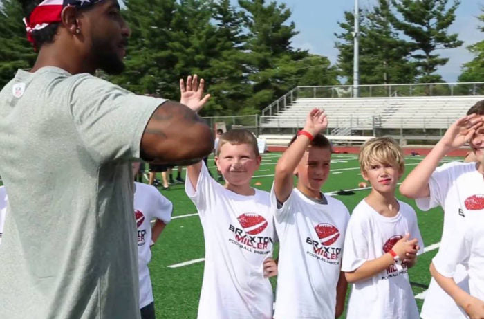 MY 1ST ANNUAL FOOTBALL PROCAMPS
