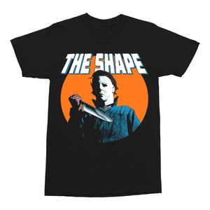 Halloween: The Shape 70s Style Comic T-Shirt