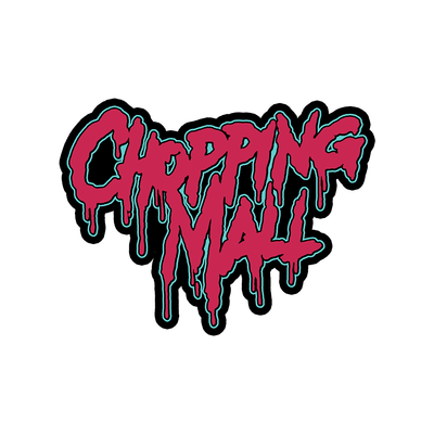 Chopping Mall: Logo (80s Remix) - Jumbo Die-cut Sticker (5x4)