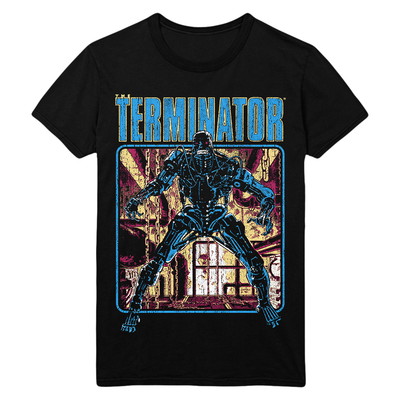 The Terminator: Comic T-Shirt