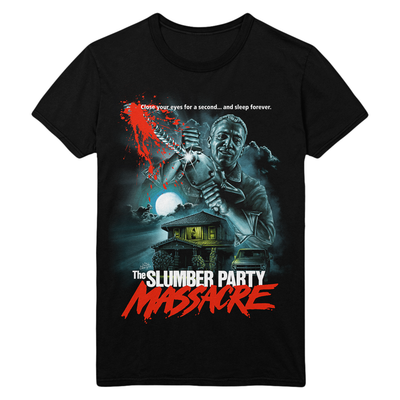 The Slumber Party Massacre: Ultimate Driller Killer Thriller T-Shirt