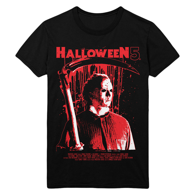 Halloween 5: Faux Poster T-Shirt