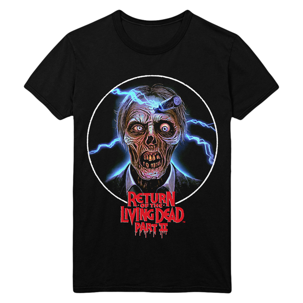 Return of the Living Dead Part II: Faux VHS Cover T-Shirt