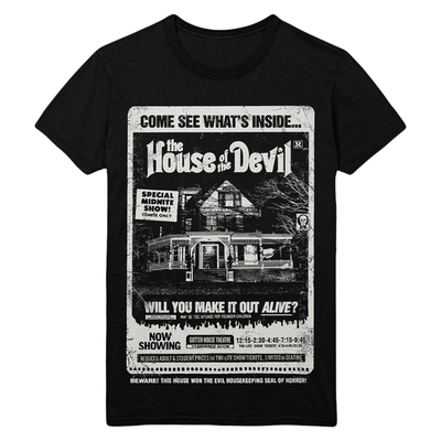 The House of the Devil: Gutterhouse Ad T-Shirt