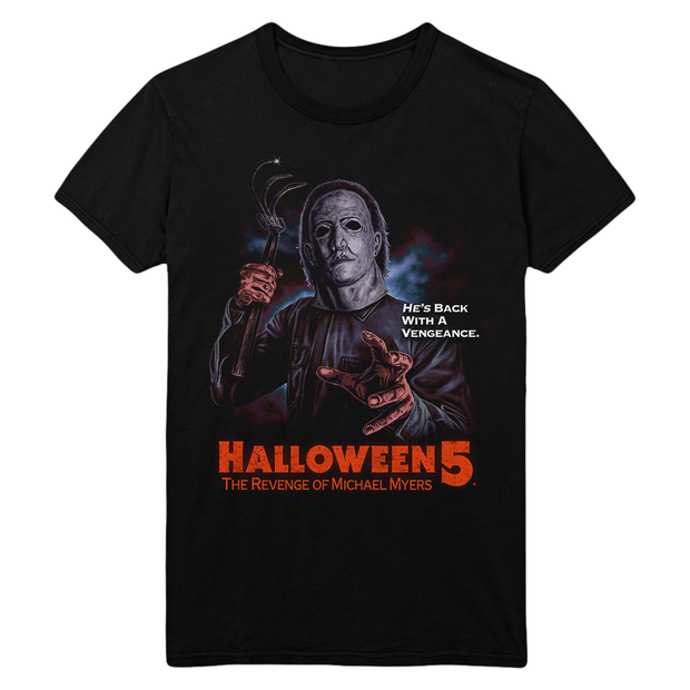 Halloween 5: Back With A Vengeance T-Shirt