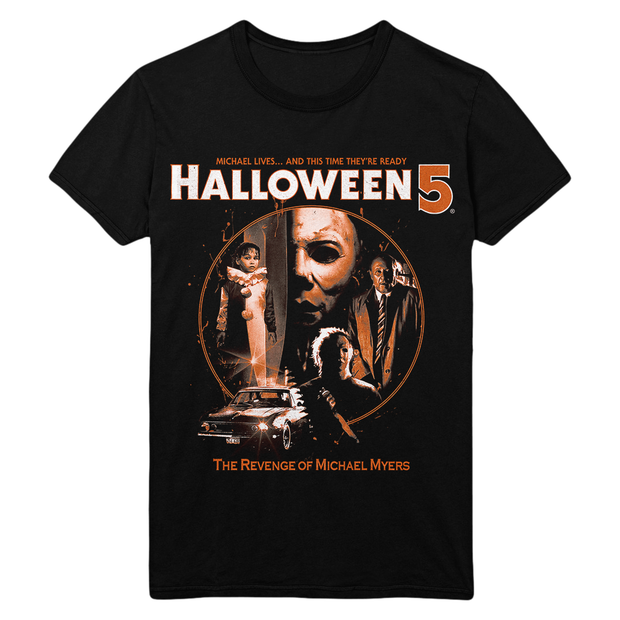 Halloween 5 Michael Myers T-Shirt