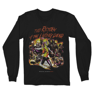The Return of the Living Dead: Classic International - Long Sleeve T-Shirt