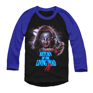 Return of the Living Dead 3: To Die For - Baseball T-Shirt