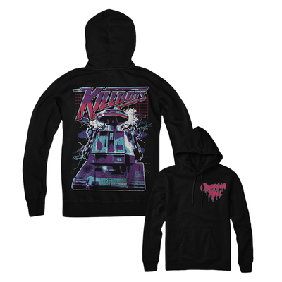 Chopping Mall: Killbots (80s Remix) - Pull-over Hoodie