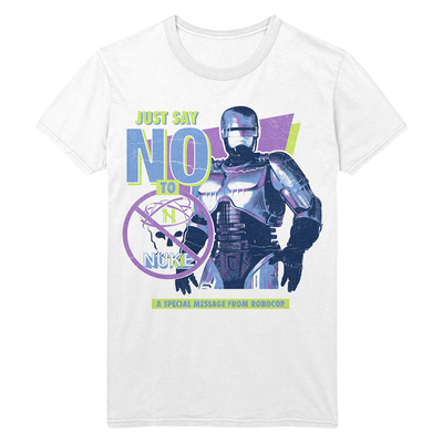Robocop 2: Just Say No to Nuke T-Shirt