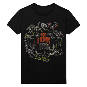 Night of the Demons: Opening Credits T-Shirt (Glow-in-the-Dark)