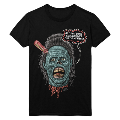 Return of the Living Dead Part II: Screwdriver Head T-Shirt