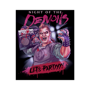 Night of the Demons: Stooge Sticker