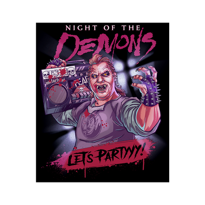 Night of the Demons: Stooge - Jumbo Sticker (5x6)