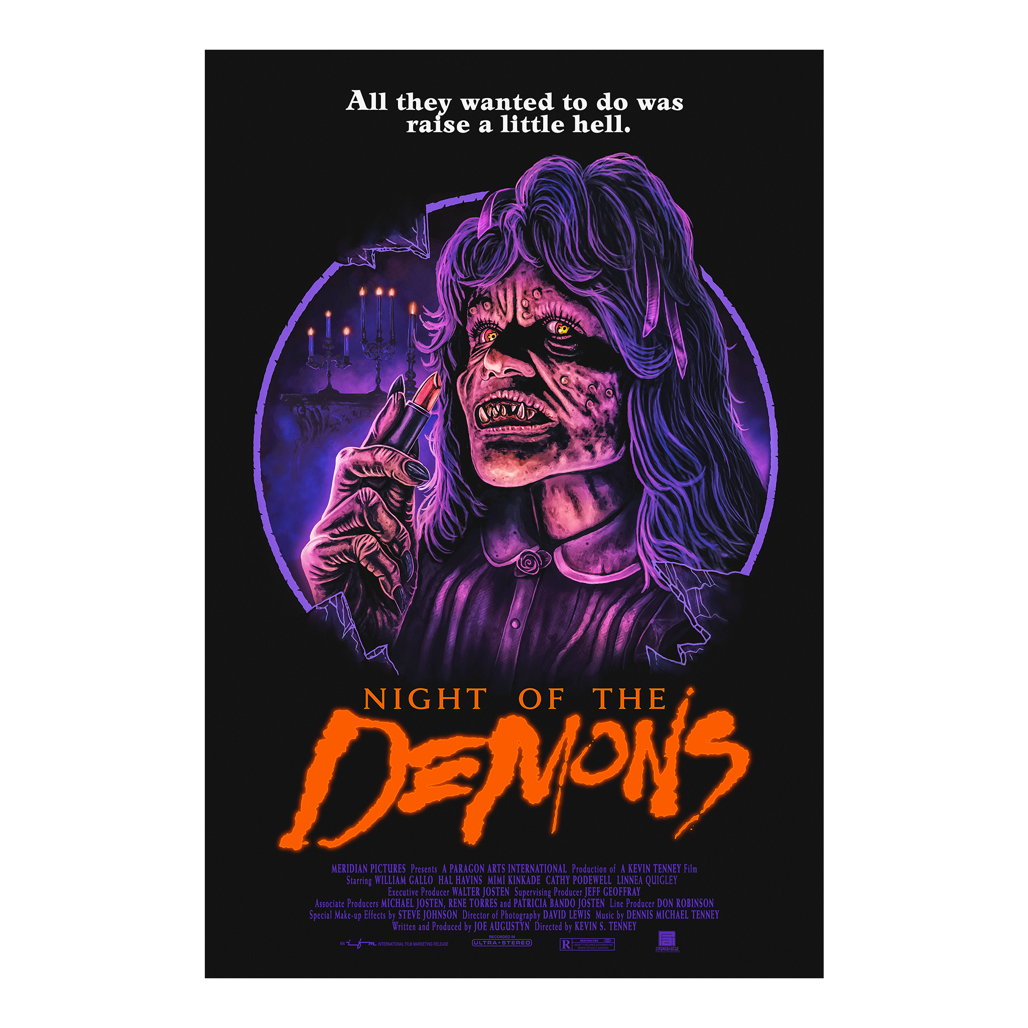 Night of the Demons: Suzanne Poster (24x36)