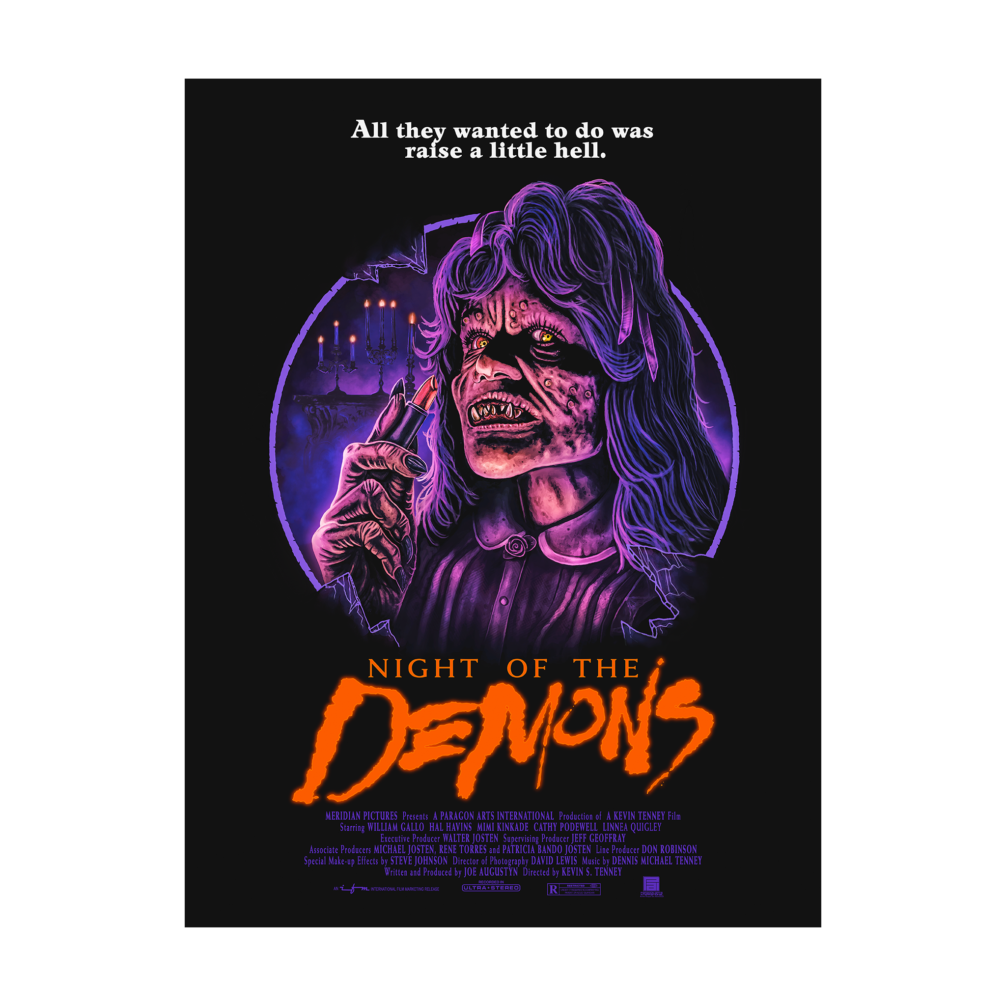 Night of the Demons: Suzanne Poster (18x24)
