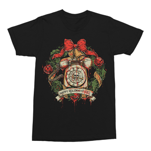 Black Christmas: Holiday Wreath T-Shirt