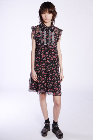 Pocket Full of Posies Collared Dress