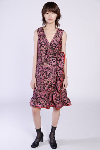 Field of Flowers Bow-Back Dress