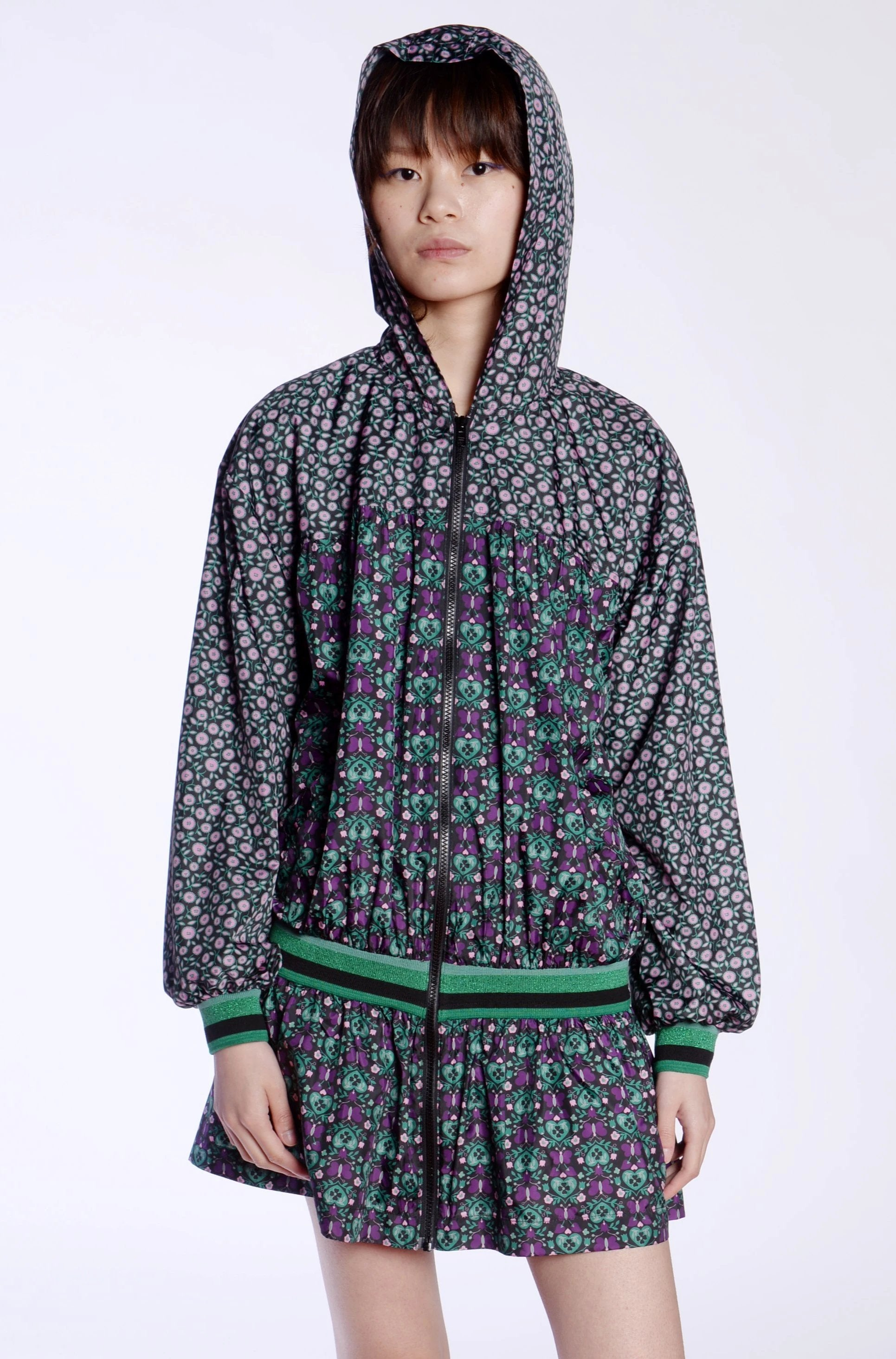 Pocket Full of Posies Windbreaker Jacket - Anna Sui