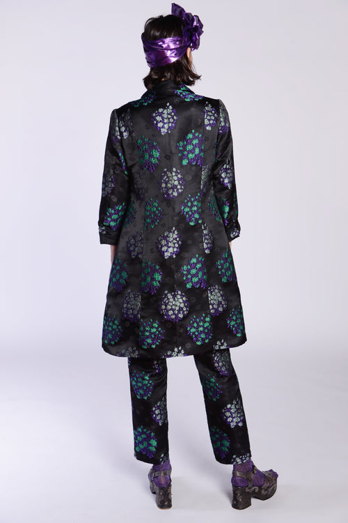 Tossed Bouquet Coat - Anna Sui