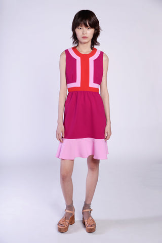 Love's Flame Sleeveless Dress
