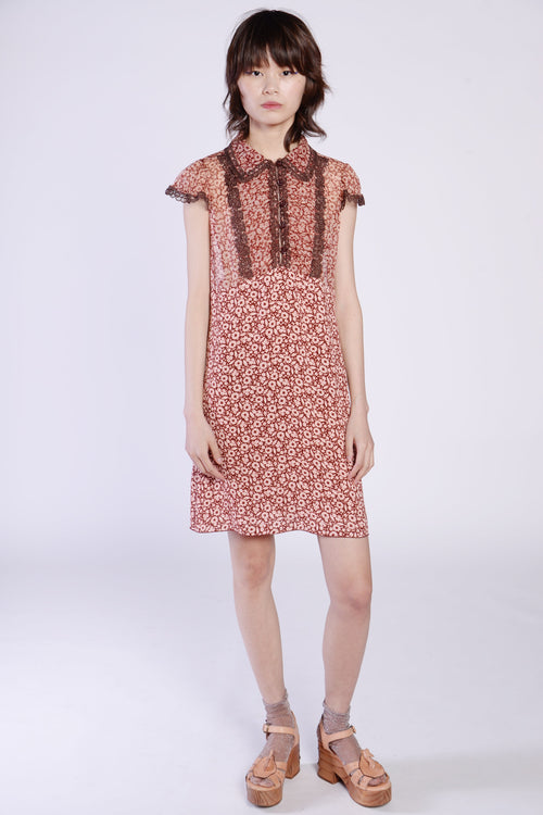 Daisy Delights Button Front Dress - Anna Sui