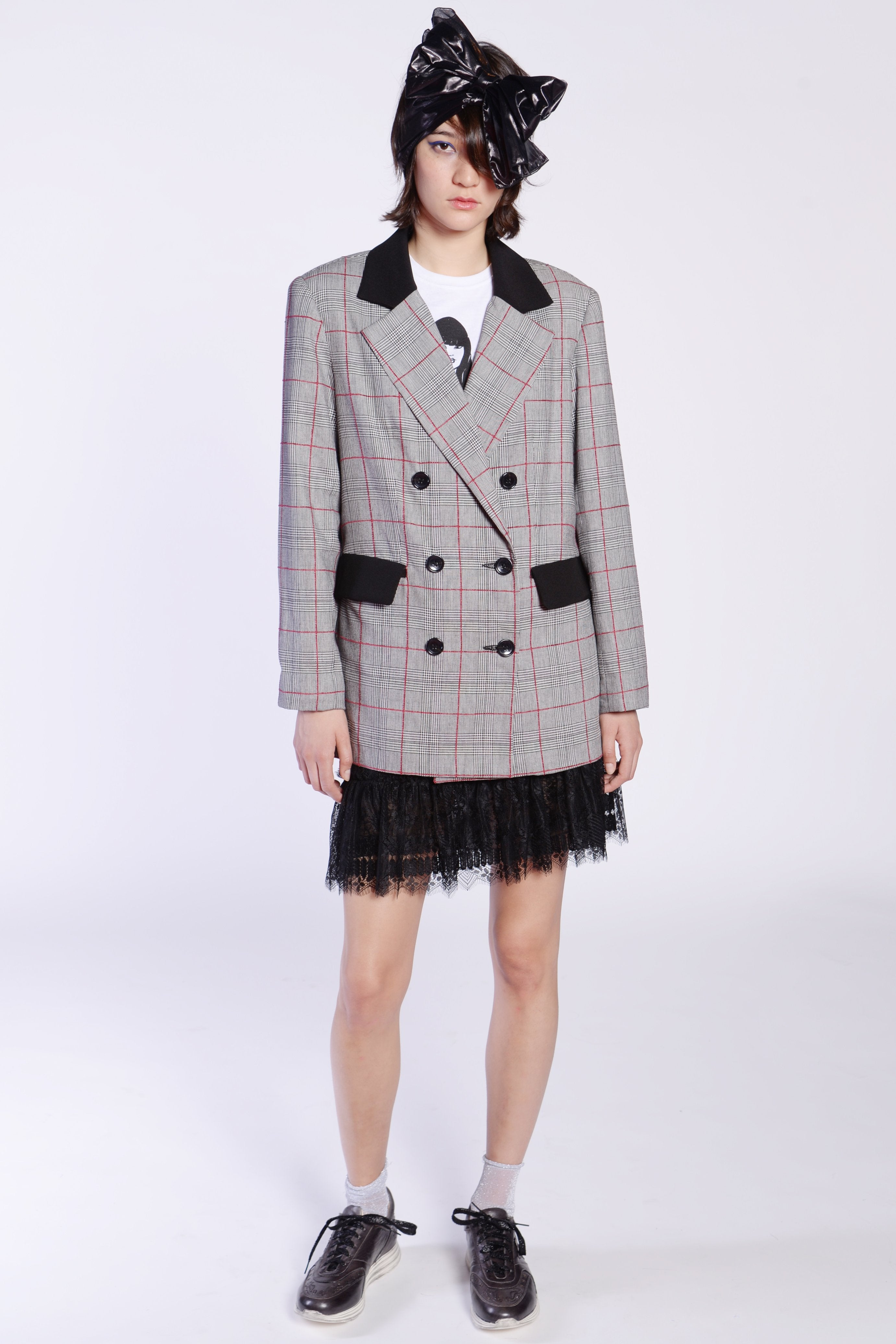 Plaid Jacket - Anna Sui