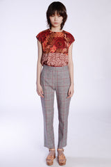Plaid Pants - Anna Sui